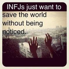 INFJ so true