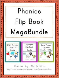 These fun, easy to assemble, activity flip books will keep your students engaged while learning about short vowels, digraphs, and long vowels (CVCe). $