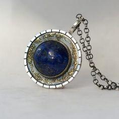 Lapis Lazuli Medallion