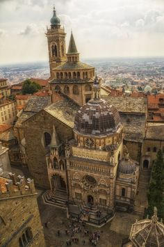 Church in Bergamo, Italy by ~qwstarplayer on deviantART
