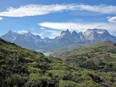 Mountain Ranges in Patagonia South America