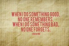 No one forgets