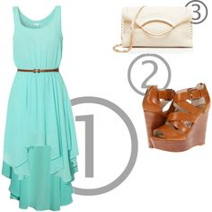 """3•2•1 outfit: A Summer afternoon"" by nievesugarte on Polyvore"