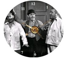 3 Stooges CD Clock Will Make to Order