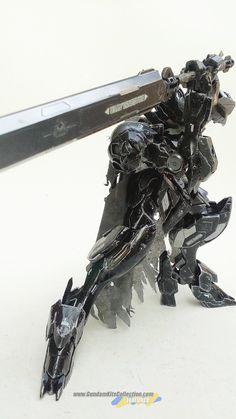"MODELER: Rendy Iswanto  MODEL TITLE: Gundam Barbatos Lupus ""- Guts Custom - Berserker Armor ""  MODIFICATION TYPE:  custom color scheme, cus..."
