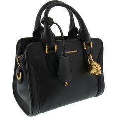 Alexander McQueen Bags ($780) ❤ liked on Polyvore featuring bags, handbags, black, skull bag, skull purse, alexander mcqueen, skull handbag and alexander mcqueen handbags