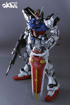 PG 1/60 GAT-X105 Strike Gundam - Painted Build  Modeled by akhusoo