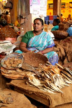INDIA Fishstalls in Pondicherry Markets India Qi Gong, People Of The World, In This World, Sri Lanka, Nepal, Places Around The World, Around The Worlds, Laos, Burma