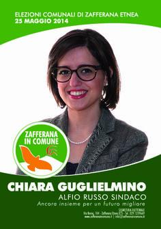 I nostri Candidati: Chiara Guglielmino #ZafferanainComune #AlfioRussoSindaco