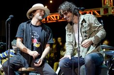 Eddie Vedder and Chris Cornell On stage together