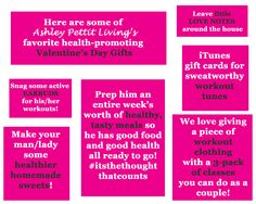 Healthy Valentine's Day Gifts #nutrition #aplnutrition #healthygifts
