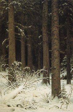 Painting by Ivan Shishkin.