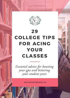Super helpful tips for being a better student! The ones on finding resources on campus are the best. Click through to read and pin to save for later! via /collegecompassc/