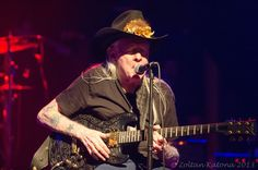 Johnny Winter at SRV tribute, 2013
