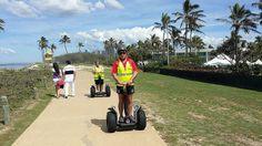 Segway Tours on the Gold Coast past Sheraton Mirage