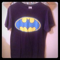 Small Purple Batman T-Shirt Great for a super hero day! Gildan Tops Tees - Short Sleeve