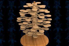 Helicone Wooden Toy - SketchUp,Parasolid,SOLIDWORKS,Autodesk 3ds Max,OBJ,STEP / IGES,STL - 3D CAD model - GrabCAD