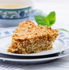Ciasto z kaszy jaglanej z jabłkami - Konrad Gaca