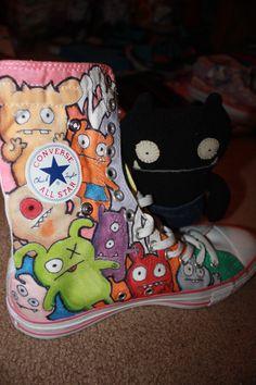 Ugly Doll Shoe by Funkarilla.deviantart.com