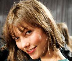 Karlie Kloss haircut 2013 hair trend