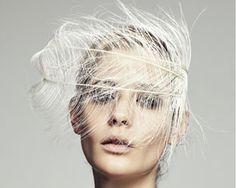 Wedding Snow - Jennifer Behr Ostrich Feather Headband Veil! I'm so getting this made for my wedding! Obsessed!