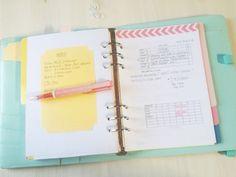 Free Printable blog Planner Filofax Insert - Personal & A5