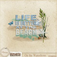 Scrapbooking TammyTags -- TT - Designer - Kimeric Kreations,  TT - Item - Word Art, TT - Style - Cluster, TT - Theme - Summer or Beach