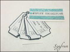 Szafranowe Twory: kuponowe sTworki urodzinowe: odsłona turkusowa