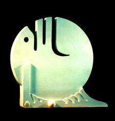 Sculptured Calligraphy.