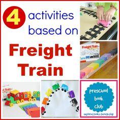 Freight Train Activities from Preschool Book Club