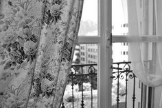 ImageFind images and videos about vintage, floral and window on We Heart It - the app to get lost in what you love. Rose Tumblr, Night Window, Curtain Styles, Amazing Architecture, Windows Architecture, Windows And Doors, Valance Curtains, Home Accessories, Shabby Chic