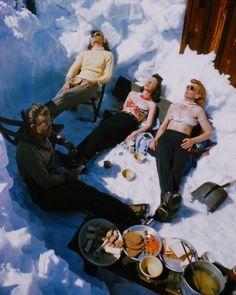 How we camp in the snow!     #PathfinderAdventures