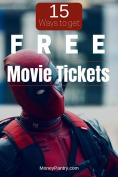15 Ways to Get Free Movie Tickets (Legally!) – Make Money Ways To Save Money, Money Tips, Make Money Online, How To Make Money, Money Hacks, How To Get, Frugal Living Tips, Frugal Tips, Wealth Management