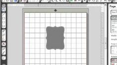 Creating Cut Files Using Stampin' Up! MDS Punches with Silhouette Studio Designer Edition Software, via YouTube.