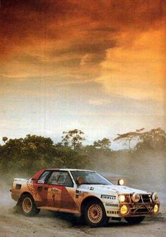 TTE Toyota Celica Turbo Gruppe B - Safari Rallye Kenia