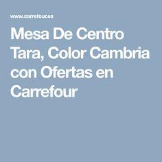 Mesa De Centro Tara, Color Cambria con Ofertas en Carrefour