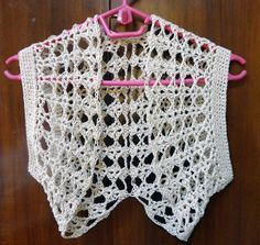 I found this image sometime back and totally fell in love with this bolero. I couldn't find a pattern for it, so I just made up my own. T...