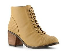 Michael Antonio Myra Bootie brown ankle boots, I'd like more of a brown than this yellow though