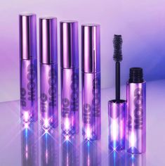 Makeup News: elf Cosmetics Drops New Electric Mood Makeup Collection with Tiana Major9, Tove Lo, and Pitizion elf Cosmetics has just released their new Electric Mood Makeup Collection — in collaboration with Tiana Major9, Tove Lo, and Pitizion. Included in the elf Electric Mood Makeup Collection is: a mascara, a brush set, and 3 beauty products created with each musician. The Tiana Major9 collection includes an eyeshadow palette, a lip duo... Voss Bottle, Water Bottle, Makeup News, Beauty News, Beauty Industry, Makeup Collection, Brush Set, Smudging, Eyeshadow Palette