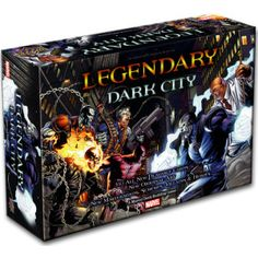 Marvel Legendary Dark City Expansion - ML really starts to fill out and feel more complete with these expansions.