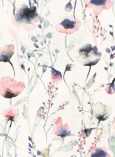 Parkquet Damen Elastische Wildblumen-Print