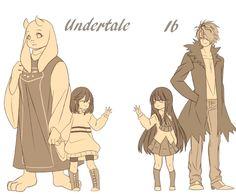 Undertale n Ib by LuvRuby