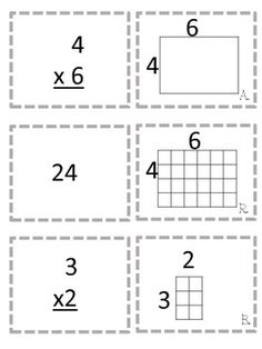 Multiplication Game Area Models and Arrays (Two Ways to Play) Multiplication Problems, Math Problems, Fun Math Games, Number Games, Fourth Grade Math, Math Class, Early Finishers, Cooperative Learning, Math Workshop