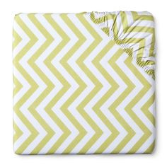Circo Woven Fitted Crib Sheet - Chevron -