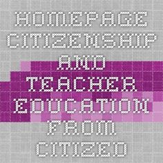 Citizenship Education, Teacher Education, Periodic Table, Periodic Table Chart, Periotic Table