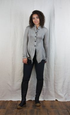 Rundholz Wooly Flounced Cardigan http://www.bluewomensclothing.co.uk/products/rundholz-wooly-flounced-cardigan