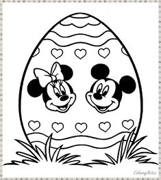 Top 10 Free Printable Disney Easter Coloring Pages Online Easter Coloring Pages Printable, Easter Egg Coloring Pages, Bible Coloring Pages, Disney Coloring Pages, Disney Easter Eggs, Easter Bunny Pictures, Easter Activities For Kids, Easter Colors, Free Printable