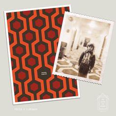 #poster O Iluminado  Foto rara do pequeno Danny Torrance (Danny Lloyd) no set de filmagens de O Iluminado