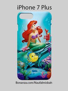 Cute Ariel Little Mermaid iPhone 7 PLUS Case Cover Wrap Around