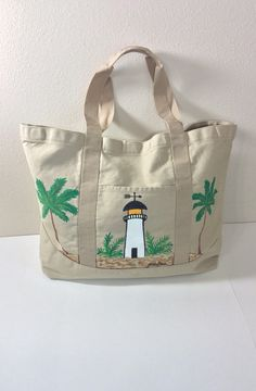 Tote Bag With Three Painted Flip Flops by ipaintitpretty on Etsy ...